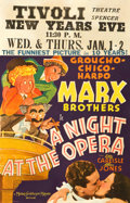 "Movie Posters:Comedy, A Night at the Opera (MGM, 1935). Window Card (14"" X 22"").. ..."