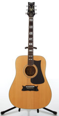 Musical Instruments:Acoustic Guitars, 1978 Ibanez Artist Natural Acoustic Guitar....
