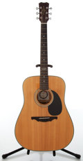 Musical Instruments:Acoustic Guitars, 1990s Alvarez 5214 Natural Acoustic Guitar, #98852....