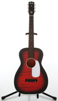 Musical Instruments:Acoustic Guitars, Circa 1950s Harmony Stella Black & Red Sunburst Acoustic Guitar, #1813H931....