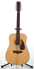 Musical Instruments:Acoustic Guitars, 1990s Fender DG-16-12 Natural Acoustic Guitar, #99021660....