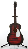 Musical Instruments:Acoustic Guitars, Circa 1960s Harmony Stella Black & Red Sunburst Acoustic Guitar, #885H931....