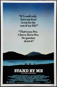 "Stand By Me (Columbia, 1986). One Sheet (27"" X 41""), and Lobby Cards (3) (11"" x 14""). Adventure..."