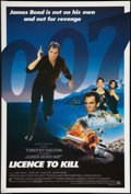 "Movie Posters:James Bond, Licence to Kill (United Artists, 1989). International One Sheet(27"" X 41""). James Bond.. ..."