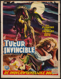 "Movie Posters:Horror, Curse of the Undead (Universal International, 1959). Belgian (14"" X 18""). Horror.. ..."