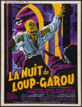 """Movie Posters:Horror, Curse of the Werewolf (Universal International, 1961). French Affiche (24"""" X 31""""). Horror.. ..."""