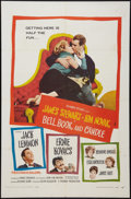 """Movie Posters:Romance, Bell, Book and Candle (Columbia, 1958). One Sheet (27"""" X 41""""). Romance.. ..."""