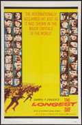"""Movie Posters:War, The Longest Day (20th Century Fox, 1962). One Sheet (27"""" X 41"""").War.. ..."""