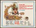 "Movie Posters:Comedy, It's a Mad, Mad, Mad, Mad World (United Artists, R-1970). Half Sheet (22"" X 28""). Comedy.. ..."