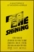 """Movie Posters:Horror, The Shining (Warner Brothers, 1980). One Sheet (27"""" X 41""""). Horror.. ..."""