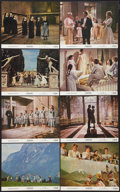 "Movie Posters:Academy Award Winners, The Sound of Music (20th Century Fox, R-1973). Mini Lobby Card Setof 8 (8"" X 10""). Academy Award Winners.. ... (Total: 8 Items)"