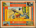 """Movie Posters:Documentary, Days of Thrills and Laughter (20th Century Fox, 1961). Half Sheet (22"""" X 28""""). Documentary.. ..."""