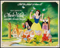 "Movie Posters:Animation, Snow White and the Seven Dwarfs Lot (Buena Vista, R-1983). HalfSheets (2) (22"" X 28""). Animation.. ... (Total: 2 Items)"