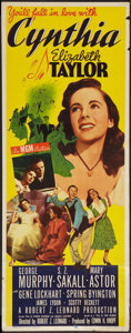 """Movie Posters:Comedy, Cynthia (MGM, 1947). Insert (14"""" X 36""""). Comedy.. ..."""