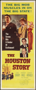 """Movie Posters:Crime, The Houston Story (Columbia, 1956). Insert (14"""" X 36""""). Crime.. ..."""