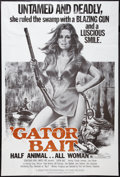 "Movie Posters:Bad Girl, Gator Bait (Sebastian International, 1974). Three Sheet (41"" X81""). Bad Girl.. ..."
