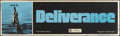 "Movie Posters:Action, Deliverance (Warner Brothers, 1972). Banner (24"" X 84""). Action....."