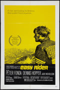 """Movie Posters:Drama, Easy Rider (Columbia, 1969). One Sheet (27"""" X 41""""). Style A.Drama.. ..."""