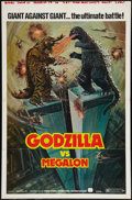 "Movie Posters:Science Fiction, Godzilla vs. Megalon (Cinema Shares International, 1973). One Sheet(27"" X 41""). Science Fiction.. ..."