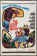 "Movie Posters:Science Fiction, The Lost World (20th Century Fox, 1960). One Sheet (27"" X 41"").Science Fiction.. ..."