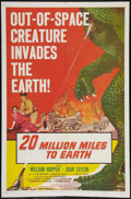"""Movie Posters:Science Fiction, 20 Million Miles to Earth (Columbia, 1957). One Sheet (27"""" X 41""""). Science Fiction.. ..."""