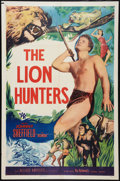 "Movie Posters:Adventure, The Lion Hunters (Allied Artists, 1951). Stock One Sheet (27"" X41""). Adventure.. ..."