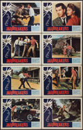 """Movie Posters:Crime, Jailbreakers (American International, 1959). Lobby Card Set of 8 (11"""" X 14""""). Crime.. ... (Total: 8 Items)"""