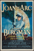 "Movie Posters:Drama, Joan of Arc (RKO, 1948). One Sheet (27"" X 41""). Style A. Drama....."
