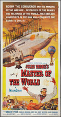 "Movie Posters:Science Fiction, Master of the World (American International, 1961). Three Sheet(41"" X 81""). Science Fiction.. ..."