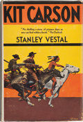 Books:Americana & American History, Stanley Vestal. Kit Carson. The Happy Warrior of the OldWest. Boston: Houghton Mifflin Company, [1928]. First e...