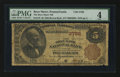 National Bank Notes:Pennsylvania, Bryn Mawr, PA - $5 1882 Brown Back Fr. 470 The Bryn Mawr NB Ch. #3766. ...