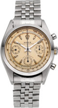 "Timepieces:Wristwatch, Rolex Very Fine & Rare Ref. 6234 ""Pre-Daytona"" Antimagnetic Oyster Chronograph, circa 1950's. ..."
