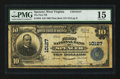 National Bank Notes:West Virginia, Spencer, WV - $10 1902 Plain Back Fr. 628 The First NB Ch. # 10127. ...
