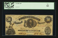 Confederate Notes:1861 Issues, T8 $50 1861 PF-8 Cr-20.. ...