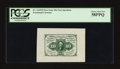 Fractional Currency:First Issue, Fr. 1243SP 10¢ First Issue Wide Margin Face PCGS Choice About New 58PPQ.. ...