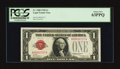 Small Size:Legal Tender Notes, Four Digit Serial Number Fr. 1500 $1 1928 Legal Tender Note. PCGS Choice New 63PPQ.. ...