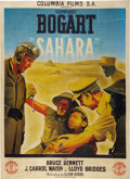 "Movie Posters:War, Sahara (Columbia, 1940s). First Post-War French Grande (47"" X63"").. ..."