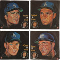 "Baseball Collectibles:Others, 1966 Los Angeles Dodgers ""76 Union"" Records Lot of 16...."
