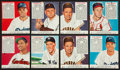 Baseball Cards:Lots, 1952 Red Man Baseball With Tabs Collection (17). - With HoFers. ...