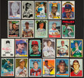 Autographs:Sports Cards, Baseball Greats Signed Cards Lot Of 22....