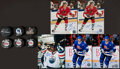 Hockey Collectibles:Others, Hockey Legends Signed Pucks And Photographs Lot Of 10....