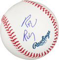 Autographs:Baseballs, Rev. Run (Run DMC) Single Signed Baseball....