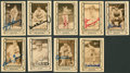 Autographs:Sports Cards, Baseball Legends Signed Baseball Cards Lot Of 9....