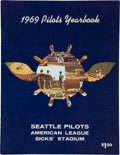 Baseball Collectibles:Publications, 1969 Seattle Pilots Yearbook....
