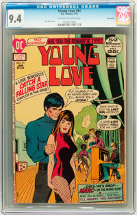 Young Love #91 Savannah pedigree (DC, 1972) CGC NM 9.4 Off-white to white pages