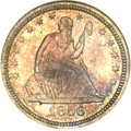 Proof Seated Quarters, 1856 25C PR66 NGC....
