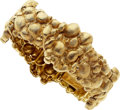 Estate Jewelry:Bracelets, Gold Bracelet, Cellino. ...