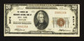 National Bank Notes:Maryland, Bel Air, MD - $20 1929 Ty. 1 The Farmers & Merchants NB Ch. #9474. ...