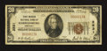 National Bank Notes:Kentucky, Harrodsburg, KY - $20 1929 Ty. 1 First-Mercer NB Ch. # 2531. ...