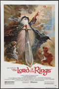 "Movie Posters:Animated, The Lord of the Rings (United Artists, 1978). One Sheet (27"" X 41"")and Program (8.75"" X 11.75""). Animated.. ... (Total: 2 Items)"